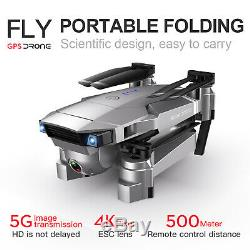 Sg907 Gps Drone, 5g Wifi Fpv Pliable Drone Avec 4k Hd X50 Zoom Wifi Professiona