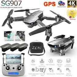 Sg907 Gps Drone Avec 4k Hd Double Caméra Wifi Fpv Pliable Rc Quadcopter Drone Uk