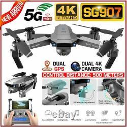 Sg907 Sg901 Gps Avec 4k Hd Double Caméra 5g Wifi Fpv Drone Follow Me Rc Quadcopter