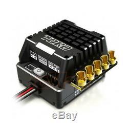 Skyrc Toro Ts160a Aluminium Brushless Sensored Esc Pour 110 Rc Cars # Sk-300064-01