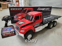 Snap On Tools Traxxas Ultimate Flatbed Truck R/c Hauler Limited Edition 6x6