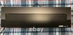 Sonos Faisceau Beam1uk1blk Intelligent Compact Soundbar Avec Alexa Voix Noire De Contrôle