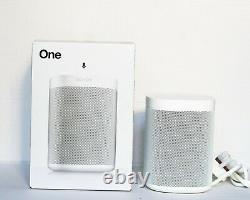 Sonos One Gen 2 Haut-parleur Sans Fil Blanc Avec Contrôle De La Voix Brand New