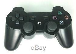 Sony Playstation 3 Console Ps3 Super Slim Avec Le Contrôleur Sans Fil