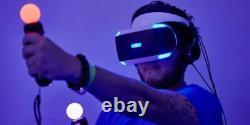 Sony Playstation 4 5 Contrôleurs De Déplacement Ps5 + Ps4 Appareil Photo Capteur De Mouvement Psvr