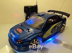 Subaru Impreza Wrc Radio De Style Télécommande De Voiture 110 Échelle Fonction Rc
