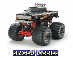 Tamiya 1/10 Rc Super Clod Buster Black Limited Edition Rc Truck Kit Tam47432 Hh