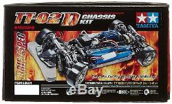 Tamiya 1/10 Série Rc Voiture N ° 584 Tt-02d Drift Spec Kit Châssis 58584