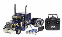 Tamiya 1/14 Rc Big Truck N ° 43 Tête De Remorque Grand-hauler Pleine Opération Set