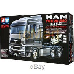 Tamiya 114 Camions Tracteur Man Tgx 26,540 6x4 XLX Ep Rc Car Sur La Route # 56325