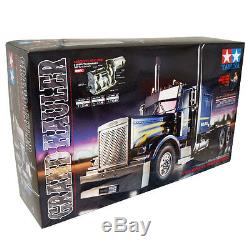 Tamiya 114 Grand-hauler Personnalisé Truck Ep Rc Car Kit Sur Route # 56344