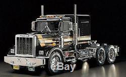 Tamiya 56336 1/14 Échelle Rc Tracteur Truck King Hauler Black Edition Kit Nib