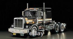 Tamiya 56336 1/14 Roi Hauler Black Edition Unassembled Rc Truck Kit Tam56336