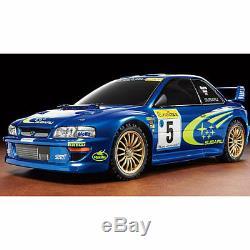 Tamiya Rc 58631 Subaru Impreza Monte Carlo 99 Tt-02 110 Kit De Montage De Voitures