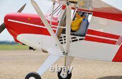 Taylorcraft Rc Motor Flugmodell 2050mm Spannweite, Black Horse Dans Artf