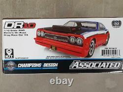 Team Associated Dr10 Electric Drag Car Race Kit 70027 Neuf