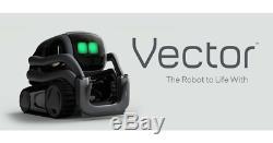 Tout Neuf Anki Vecteur Ai Companion Robotique, Avec Amazon Alexa Intégré, Étanche