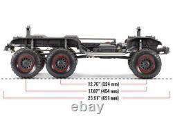 Traxxas 88096-4 Trx-6 Mercedes-benz G 63 Amg 6x6 110 Rtr Crawler 2.4ghz Noir