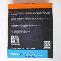 Tuact Venom X4 Souris Controller Adaptateur Clavier Pour Xbox Une Xbox 360 Ps4 Ps3