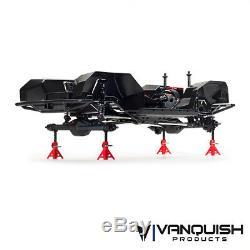 Vanquish Vps09004 Vs4-10 Pro 1/10 4 Roues Motrices Hors Route Noire Anodisée Origine Halfcab Kit