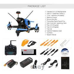 Walkera F210 3d Fpv Racing Drone Quadcopter Avec Caméra Hd Et Devo 7 Remote