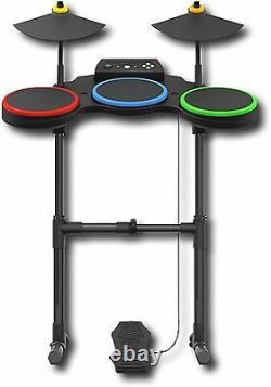 Xbox 360 Guitar Hero World Tour Band Drum Kit Set Batterie Band Guerriers Du Rock