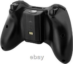 Xbox 360 Wireless Controller Charger Dock Dual Port W 2 Batteries Rechargeables