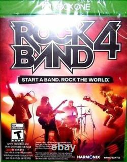 Xbox One Rock Band 4 Les Beatles Drums3x Pro-cymbalshofner & Rickenbackergame
