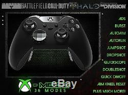 Xbox Un Elite Rapide D'incendie Contrôleur Tout Led Couleur Cod Battlefield Mod