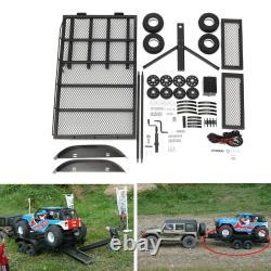 Xtra Speed Trailer Crawler Truck 110 Heavy Duty Truck Rc Car Ep #xs-59619 Cadeau